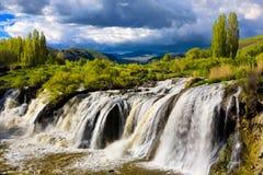 Muradiye waterfalls Royalty Free Stock Photo