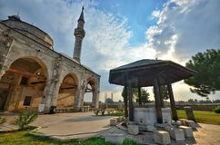 Muradiyemoskee Edirne Royalty-vrije Stock Foto's