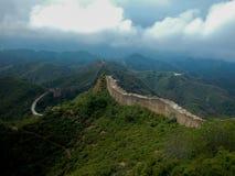 Muraille de bergskam/stor vägg royaltyfri fotografi