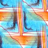 Mural σκάφος σχεδίων υποβάθρου άνευ ραφής Στοκ Εικόνα