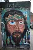 Mural τέχνη στην ανατολή Williamsburg στο Μπρούκλιν Στοκ εικόνες με δικαίωμα ελεύθερης χρήσης