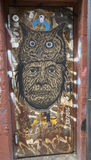 Mural τέχνη στο τμήμα Williamsburg στο Μπρούκλιν Στοκ φωτογραφία με δικαίωμα ελεύθερης χρήσης