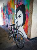 mural photo stock