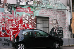 mural Στοκ φωτογραφία με δικαίωμα ελεύθερης χρήσης