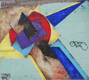 Mural art in Astoria section of Queens Stock Photography
