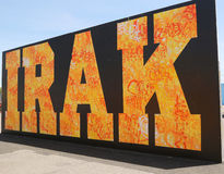 Mural art at new street art attraction Coney Art Walls at Coney Island section in Brooklyn Stock Photos