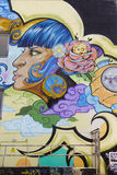 Mural art in Seville Stock Images