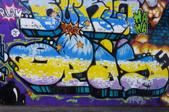 Mural art in Seville Royalty Free Stock Photography