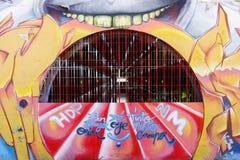 Mural art in Seville Stock Photos