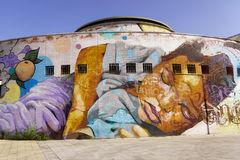 Mural art in Seville Royalty Free Stock Photos