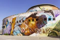 Mural art in Seville Stock Photography