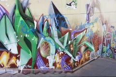 Mural art in Seville Royalty Free Stock Images