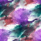 Mural  background brown, purple, green seamless pattern backgrou Royalty Free Stock Photo