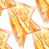 Mural  background  seamless paper airplane pattern Stock Image