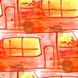 Mural background seamless  pattern bus  texture Stock Photography
