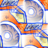 Mural  background  seamless tractor pattern Royalty Free Stock Photo