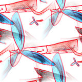 Mural  background  seamless wind power pattern Stock Photo