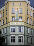 Mural Berlin apartment house Royalty Free Stock Photo