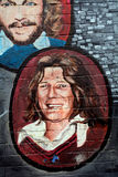 Mural with Bobby Sands, Belfast, Northern Ireland Royalty Free Stock Images
