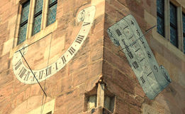 Mural on a Building In Nürnberg Royalty Free Stock Photos