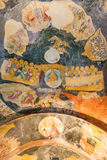 Mural in Chirch Chora , Istanbul Stock Images