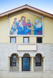 Mural on a church wall Royalty Free Stock Image