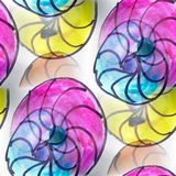 Mural  colored umbrellas seamless pattern Stock Images