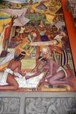 Mural de Diego Rivera, México Imagenes de archivo
