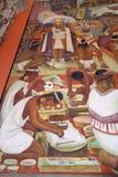 Mural de Diego Rivera, México Imagen de archivo libre de regalías