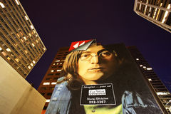 Mural de Juan Lennon Imagenes de archivo