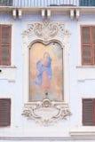 Mural de la Virgen María Imagen de archivo