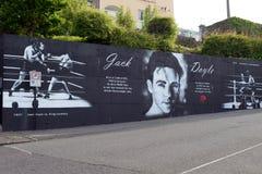 Mural dedicated to Jack Doyle Stock Photos
