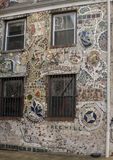 Mural del mosaico de Isaiah Zagar, Philadelphia Imagen de archivo