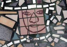 Mural del mosaico de Isaiah Zagar, Philadelphia Fotos de archivo
