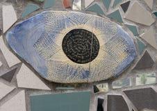 Mural del mosaico de Isaiah Zagar, Philadelphia Foto de archivo