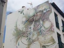 Mural del Urbanite fotos de archivo