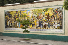 Mural of Diego Rivera Royalty Free Stock Photos