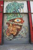 Mural at East Williamsburg in Brooklyn Royalty Free Stock Image