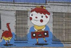 Mural at East Williamsburg in Brooklyn Stock Photo