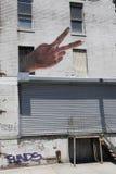 Mural at East Williamsburg in Brooklyn Stock Photos