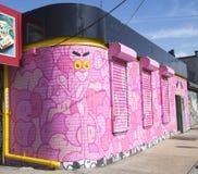 Mural at East Williamsburg neighborhood in Brooklyn Stock Photos