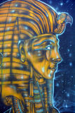 Mural of egyptian gods Royalty Free Stock Photography