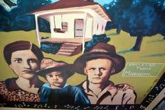 Mural of Elvis Royalty Free Stock Photo