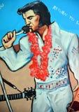 Mural of Elvis Stock Photo