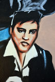 Mural of Elvis Royalty Free Stock Image