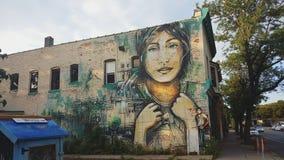 Mural en Nueva York imágenes de archivo libres de regalías