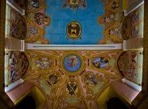 Mural en un techo de la iglesia Fotografía de archivo libre de regalías