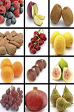 Mural of fruits Royalty Free Stock Photos