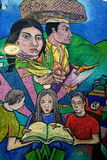 Mural in Guanajuato city, Mexico Royalty Free Stock Image