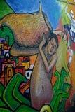 Mural in Guanajuato city, Mexico Royalty Free Stock Photo